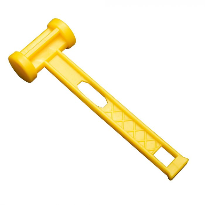 Plastic Camping Mallet Yellow