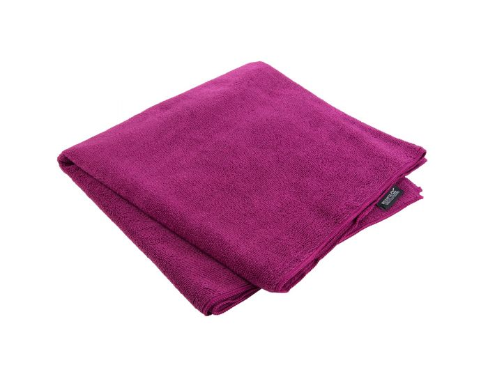 Compact Extra Large Travel Towel Dark Cerise