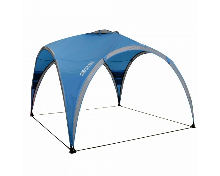 3m Family Steel Frame Gazebo French Blue