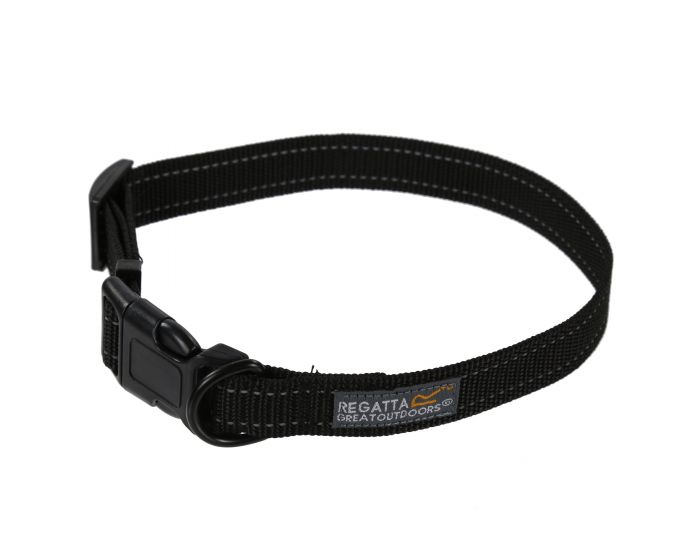 Comfort Hardwearing Dog Collar 45-70cm Black