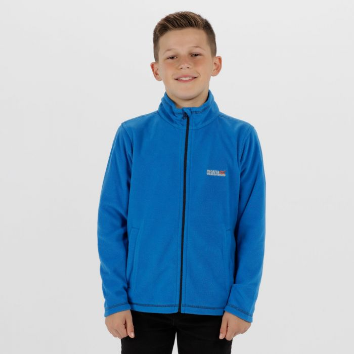 King II Lightweight Full Zip Fleece SkyDiver Blue