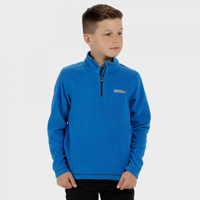 Hot Shot II Half Zip Lightweight Fleece SkyDiver Blue