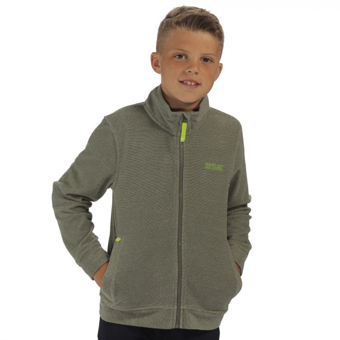 Huntly Fleece CypressGreen