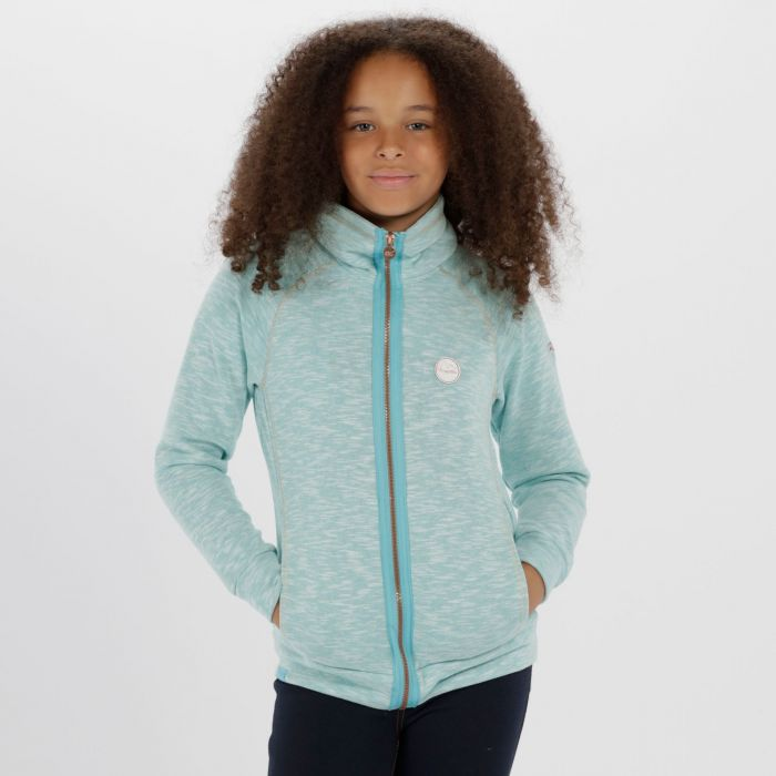 Kids Fonda Cotton Marl Texture Fleece Horizon