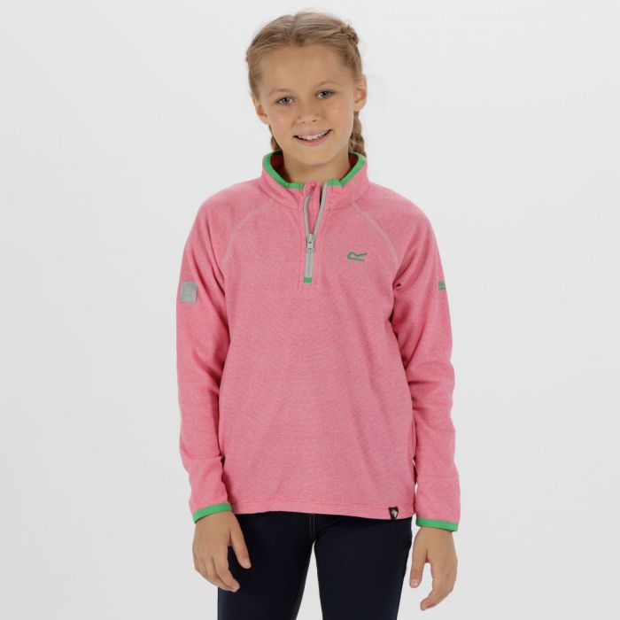 Kids Loco Half Zip Fleece Cabaret