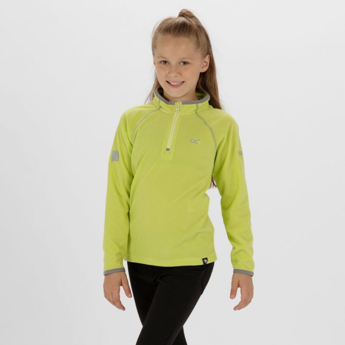 Loco Half Zip Fleece Lime Fizz