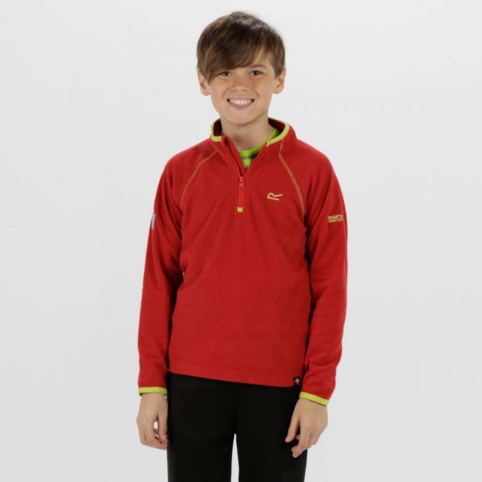 Kids Loco Half Zip Fleece Pepper