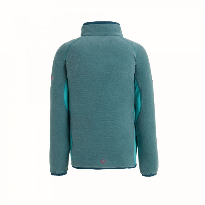 Regatta Kids/' Pira Full Zip Mini Stripe Fleece Blue