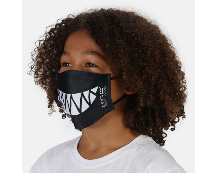 Kids Face Covering 3 Pack Camo Nautical Blue