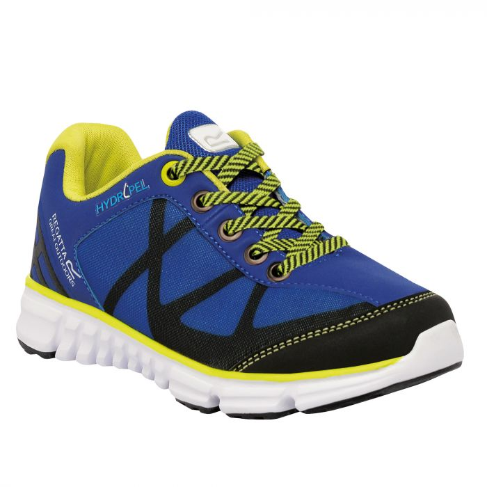Kids HyperTrail Low Shoe Blue Neon