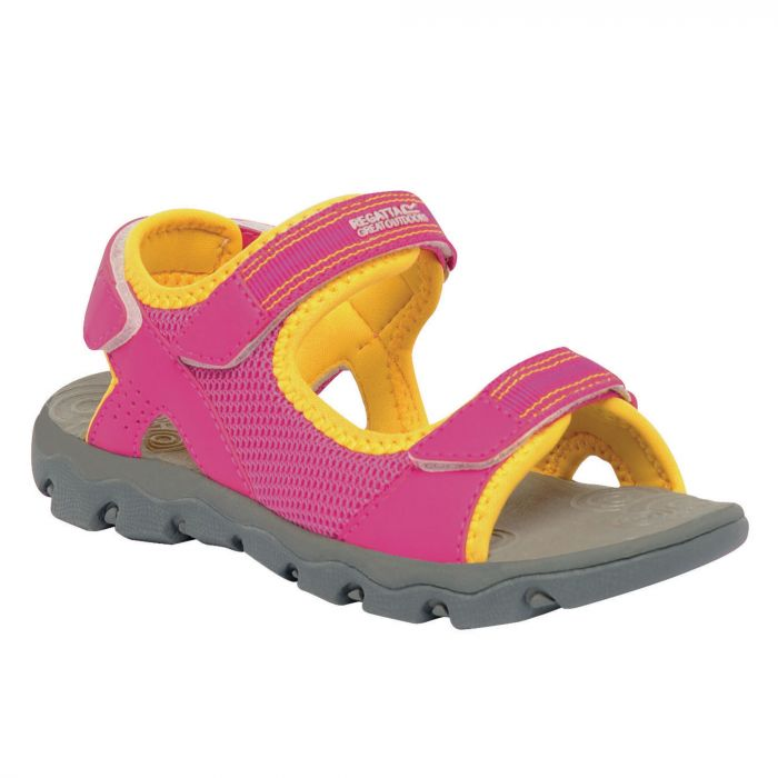 Kids Terrarock Sandals Cabaret Yellow