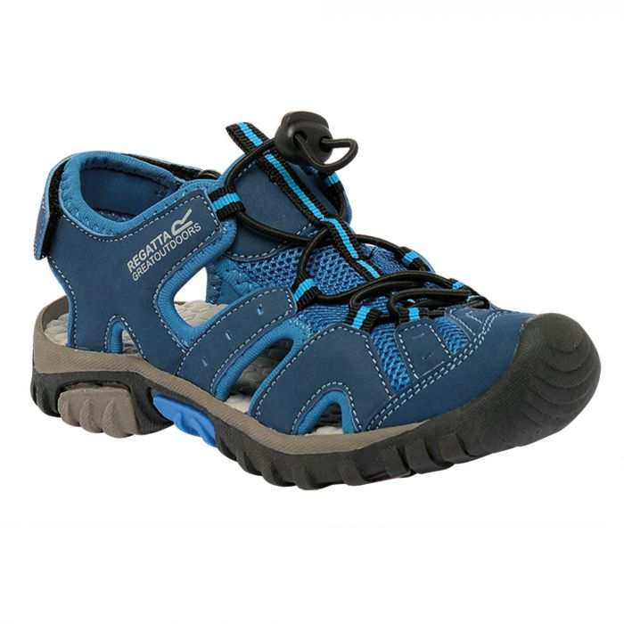 Kids Deckside Sandal Blue Wing