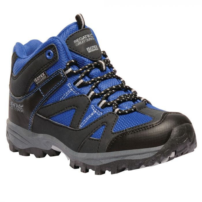 Kids Gatlin Mid Walking Boots SkyDriver Blue Ash