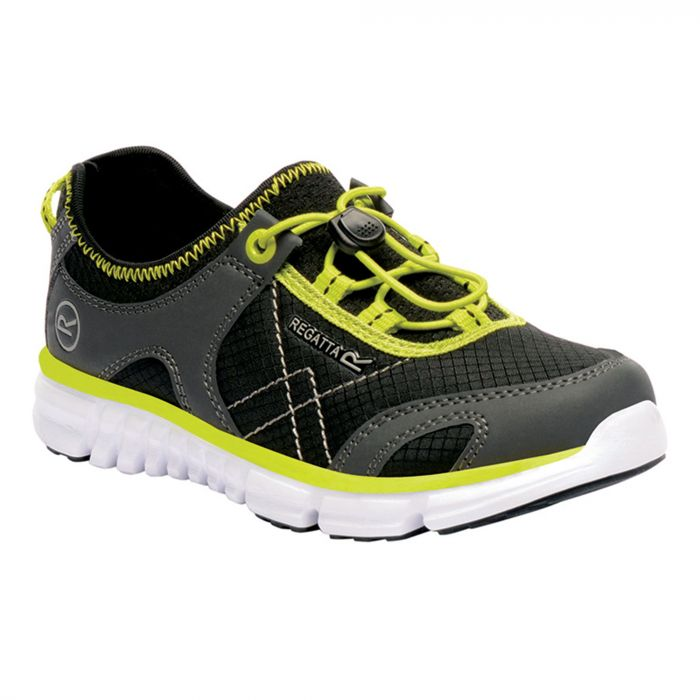 Kids Platipus II Shoe Black Neon