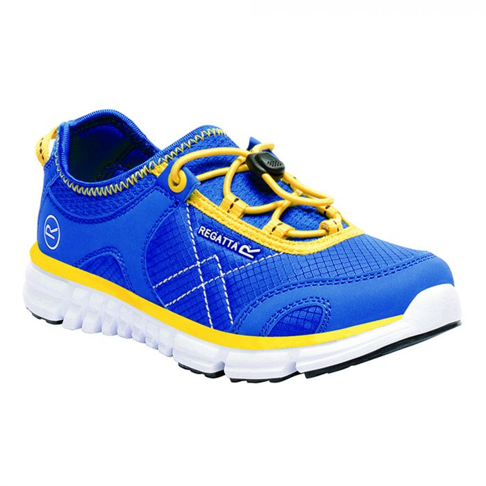 Kids Platipus II Shoe Blue Yellow