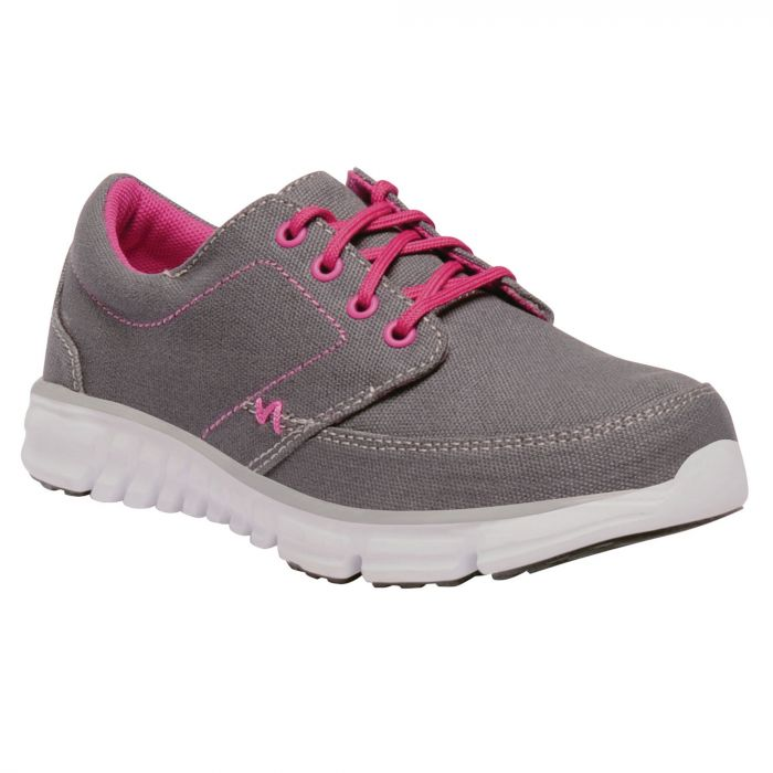 Kids Marine Walking Shoes Granite Hot Pink