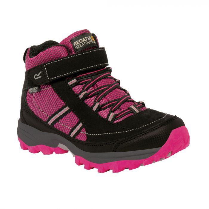 Kids Trailspace II Mid Walking Boots Jem Black