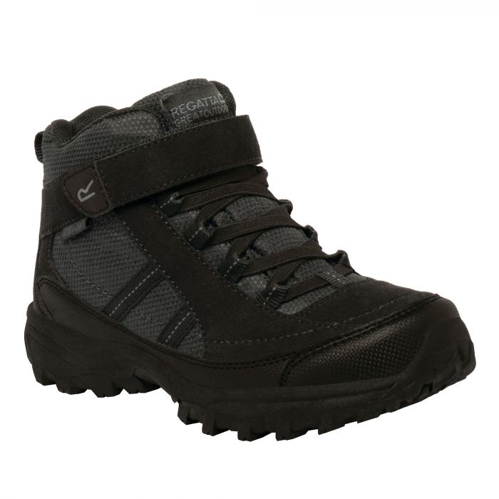 Kids Trailspace II Mid Walking Boots Black