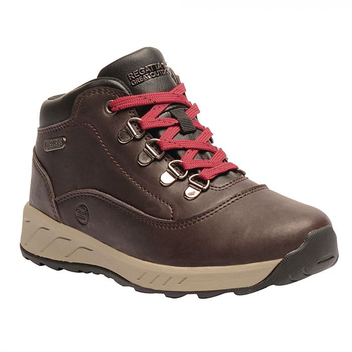 Kids Grimshaw Mid Casual Walking Boots Peat
