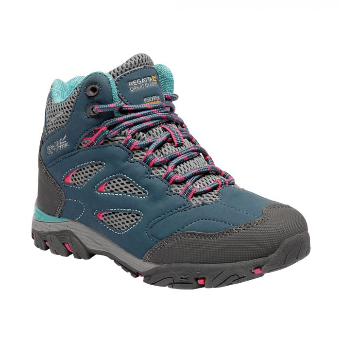 Kids Holcombe IEP Walking Boots Moroccan Blue Duchess
