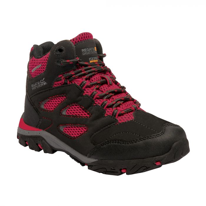 Kids Holcombe IEP Walking Boots Black Pepper