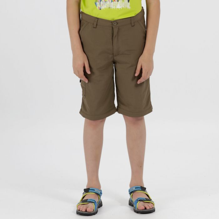 Kids Sorcer Zip Off Trousers Tree Top