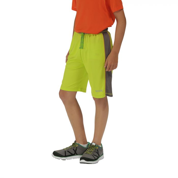 Boys Resolver Shorts Lime Zest Dust