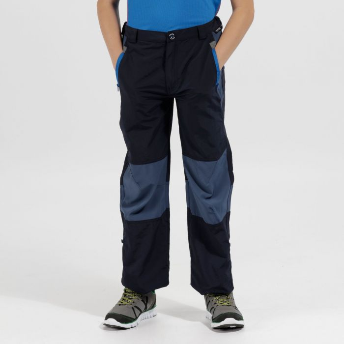 Kids Sorcer Mountain III Lightweight Trousers Navy Dark Denim
