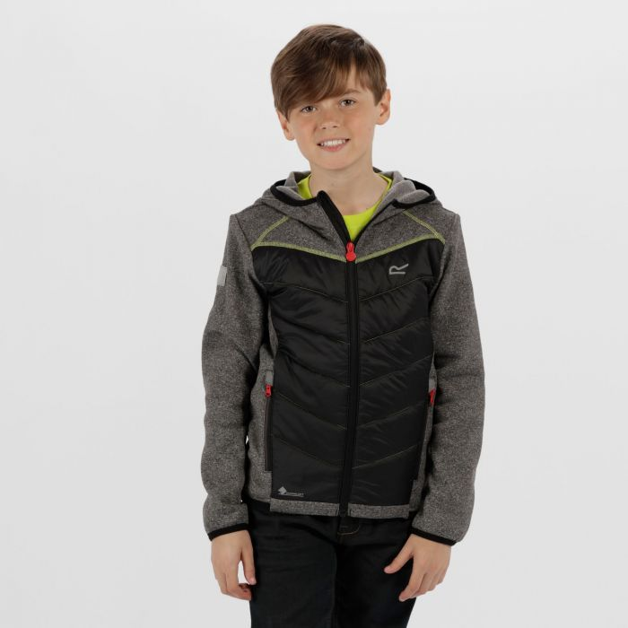 Kids Kielder III Hybrid Lightweight Insulated Jacket Black