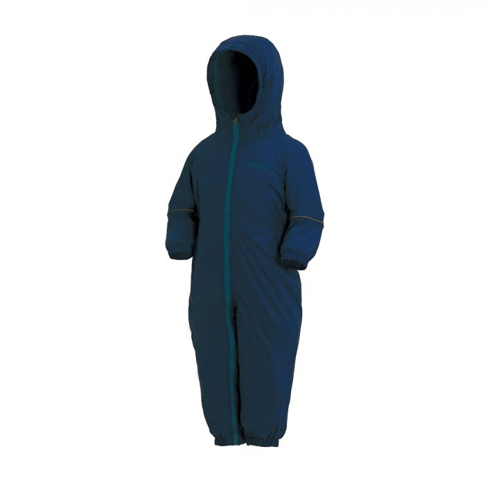 Kids Splosh III Plain Breathable Waterproof Puddle Suit Navy