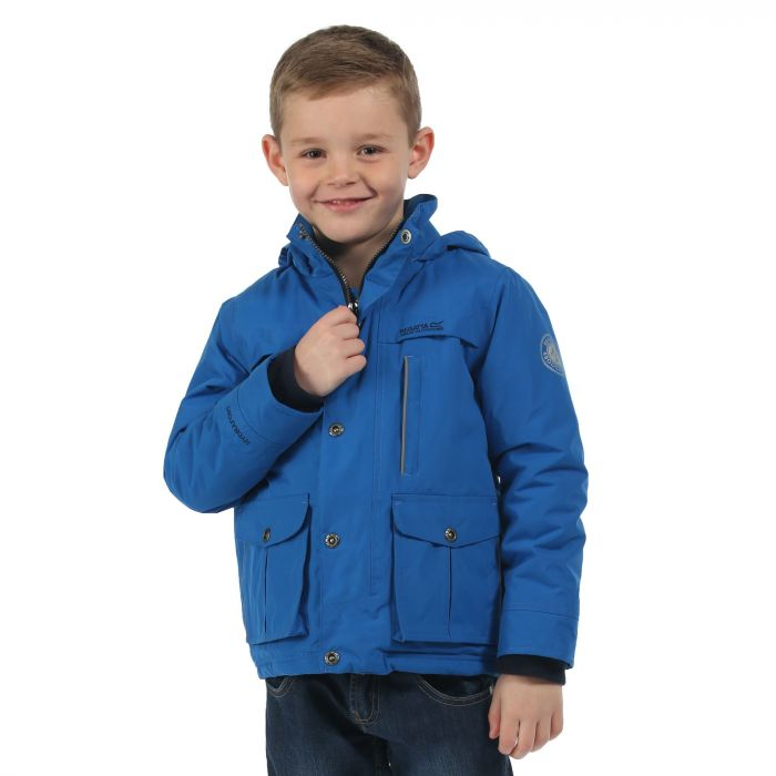 Boys Sheriff Jacket Oxford Blue