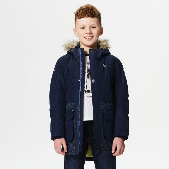 853bf6d27 Payton Waterproof Insulated Parka Jacket Navy