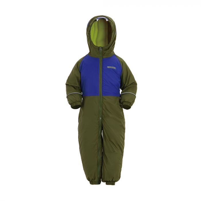Mudplay III Breathable Waterproof Puddle Suit Cypress Green Surf Spray