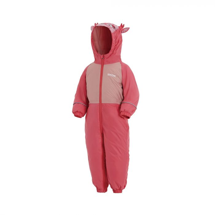 Mudplay III Breathable Waterproof Puddle Suit Geranium Pink Blossom