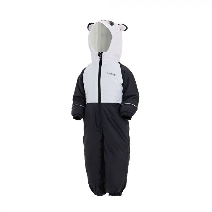 Mudplay III Breathable Waterproof Puddle Suit Black White