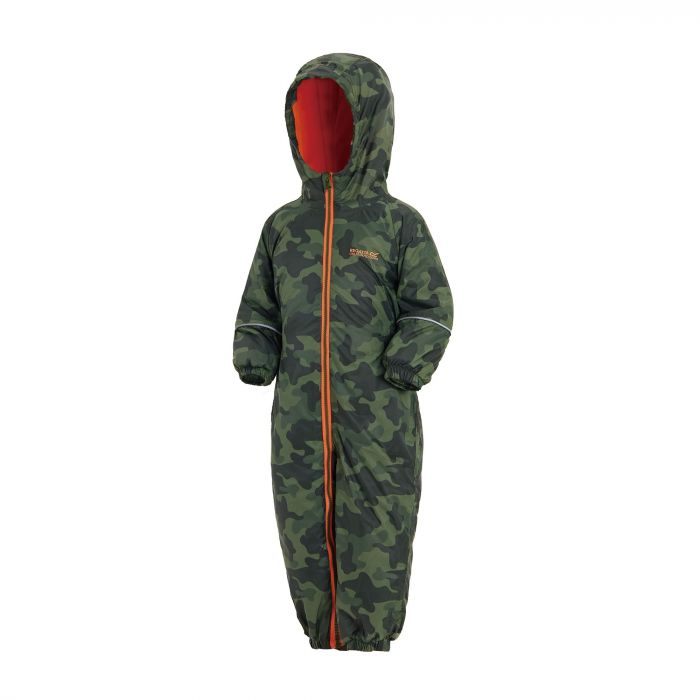 Printed Splat II Puddle Suit Cypress Camo
