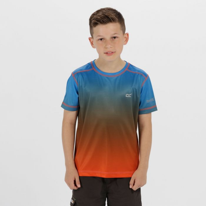 Kids Fazed Quick Dry T-Shirt Skydiver Amber Glow