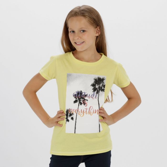 Bosley Coolweave Cotton T-Shirt Lime Fizz