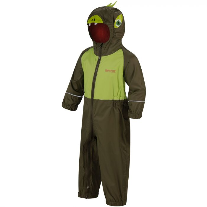 Kids Charco Waterproof Puddle Suit Ivy Green