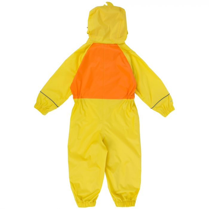 Kids Charco Waterproof Puddle Suit Spring Yellow