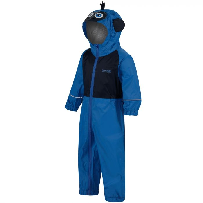 Kids Charco Waterproof Puddle Suit Skydiver Blue