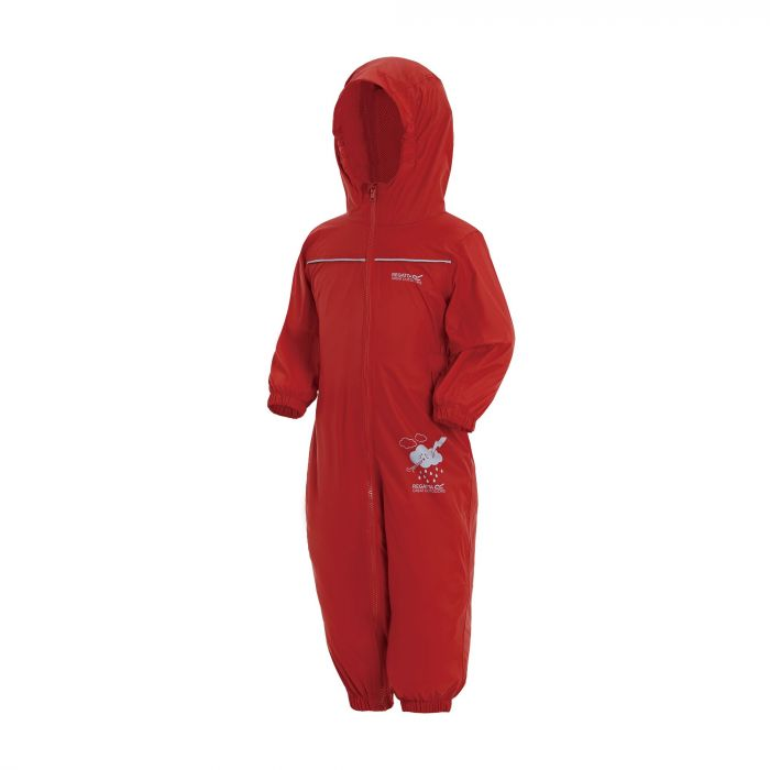 Kids Puddle IV Breathable Waterproof Puddle Suit Pepper Red