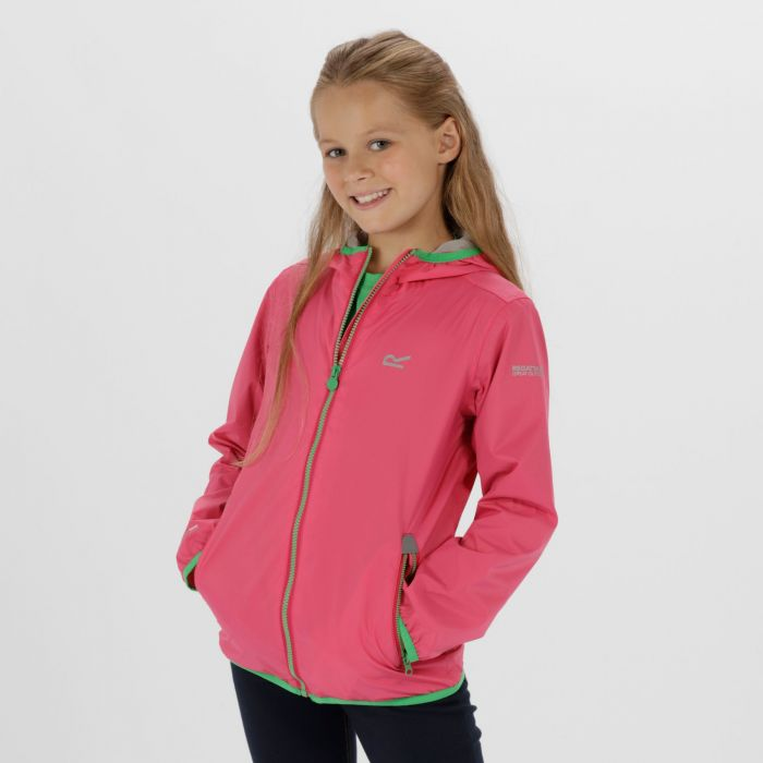 Lever II Waterproof Hooded Jacket Hot Pink