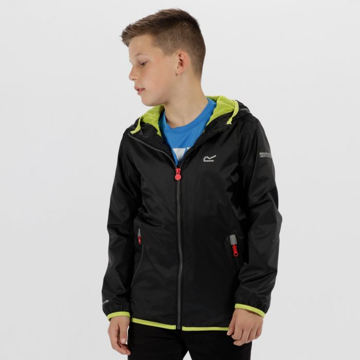 Lever II Waterproof Hooded Jacket Black