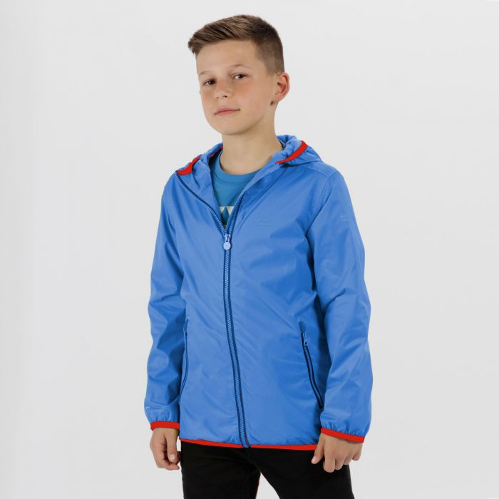 Lever II Waterproof Hooded Jacket SkyDiver Blue