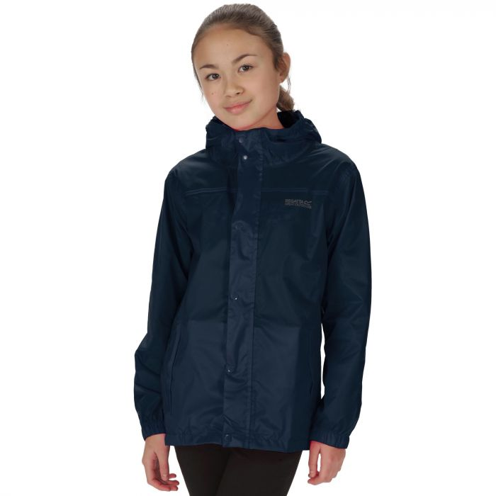 Kids Pack It Jacket II Waterproof Packaway Midnight