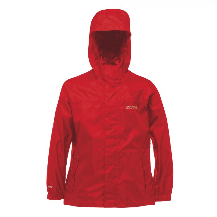 Kids Pack It Jacket II Waterproof Packaway Pepper Red