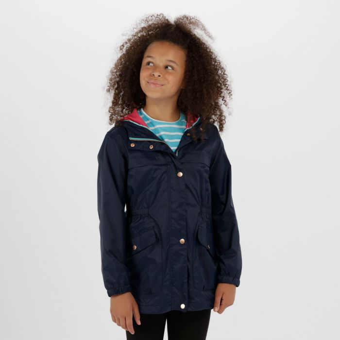 Kids Trifonia Waterproof Jacket Navy