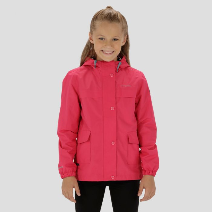 Kids Betulia Waterproof Jacket Hot Pink