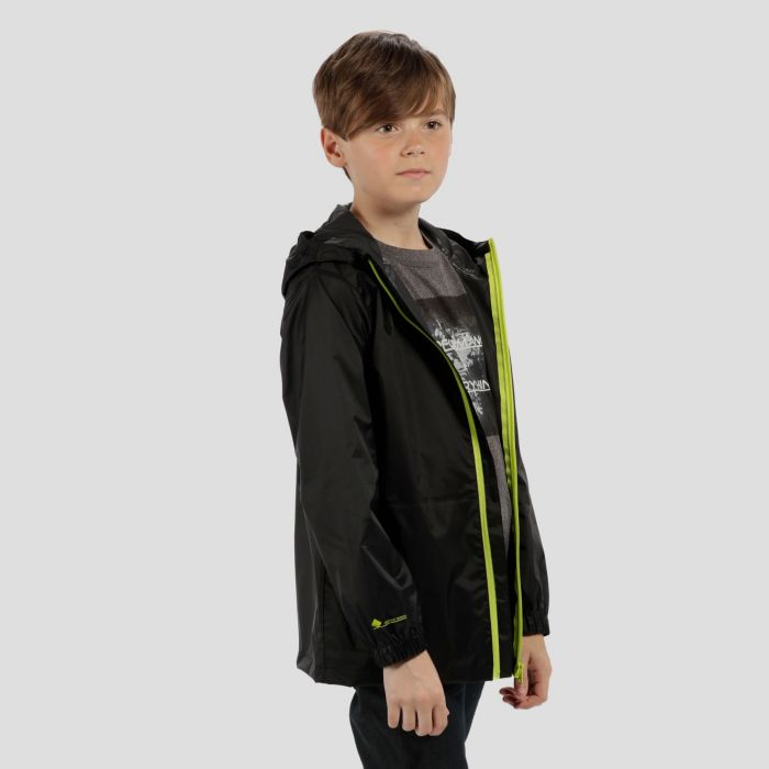 Kids Pack it Jacket III Waterproof Packaway Black